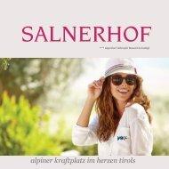 Hotel Salnerhof - Sommerprospekt