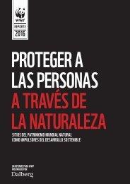 PROTEGER A LAS PERSONAS A TRAVÉS DE LA NATURALEZA