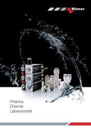 Pharma, Chemie und Lebensmittelbranche