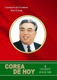 El Presidente Kim Il Sung y Corea del Juche - Naenara