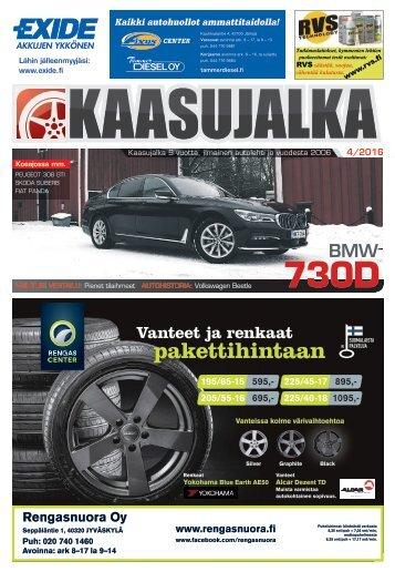 Kaasujalka 4/2016, Keski-Suomi