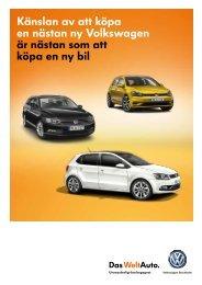 Volkswagen Stockholm Begagnaterbjudanden