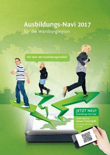 Ausbildungs-Navi 2017 für die Wartburgregion