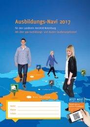 Ausbildungs-Navi 2017 für den Landkreis Hersfeld-Rotenburg