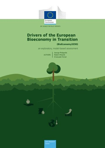 Drivers of the European Bioeconomy in Transition