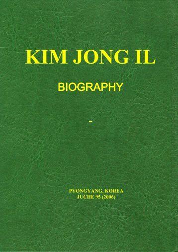kim jong il biography 2 - Dprk.su
