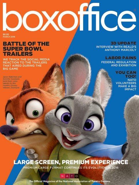 Boxoffice - March 2016
