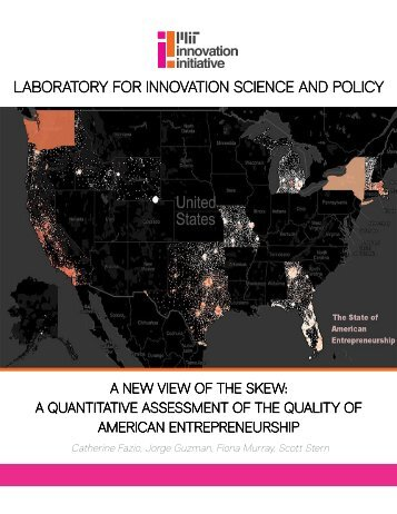 LABORATORY FOR INNOVATION SCIENCE AND POLICY