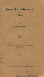 Gooische Omtrekken 1917