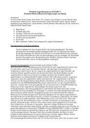 Protokoll Jugendkonvent am 23. März 2011 - Kreisjugenddienst ...
