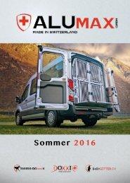 ALUmax Katalog Sommer 2016