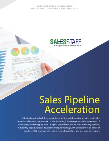 Sales Pipeline Acceleration