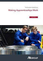 Making Apprenticeships Work