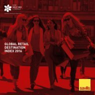 GLOBAL RETAIL DESTINATION INDEX 2016