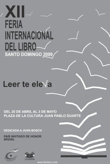 Programa de Actividades Feria del Libro 2009 - Educando