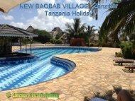 NEW BAOBAB VILLAGE - zanzibar Tanzania Holiday