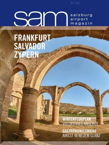 Salzburg Airport Magazin SAM 2014-03