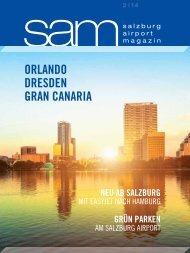 Salzburg Airport Magazin SAM 2014-02