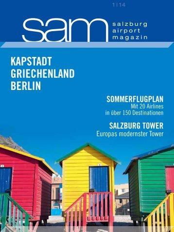 Salzburg Airport Magazin SAM 2014-01