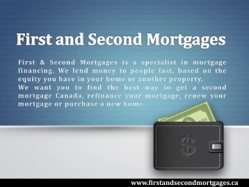 First Mortgage Canada