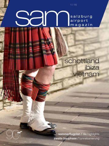 Salzburg Airport Magazin SAM 2016-01