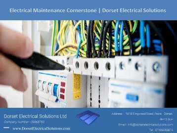 Electrical Maintenance - Dorset Electrical Solutions