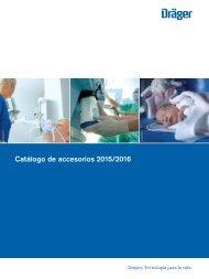 Catálogo de accesorios 2015/2016