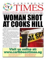 Caribbean Times 89th issue - Thursday 14th April 2016