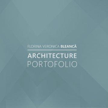 Architecture portofolio Florina Bleanca