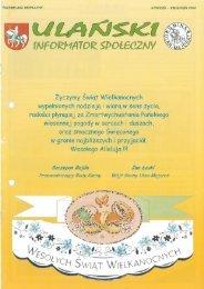 14 2012 styczeń-kwiecień Ulański Informator Społeczny