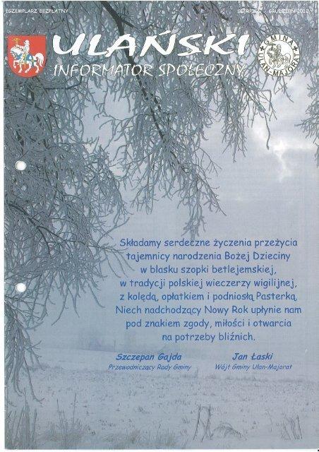 16 2012 sierpień-grudzień Ulański Informator Społeczny