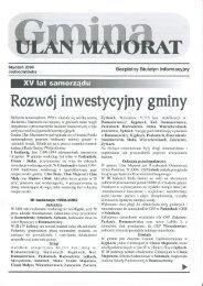 00 2006 styczeń jednodniówka Gmina Ulan-Majorat