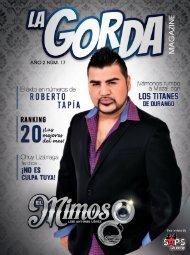 La Gorda Magazine Abril