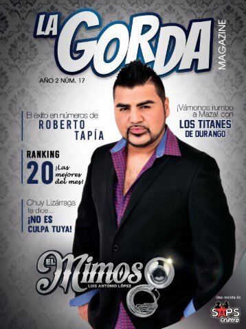 La Gorda Magazine Abril