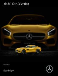 Mercedes-Benz Modellfahrzeuge 2016