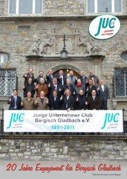JUC 20 Jahre 2011 - Junger Unternehmer Club Bergisch Gladbach ev