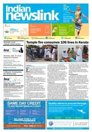 Indian Newslink April 15, 2016 Digital Edition