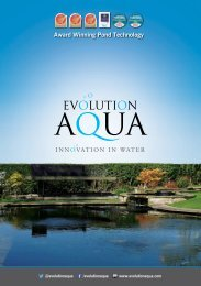 EA Pond Catalogue Brochure 2016