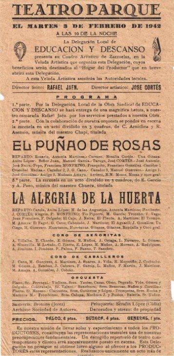 1942-02-03 Educacion y Descanso - El Puñao de Rosas