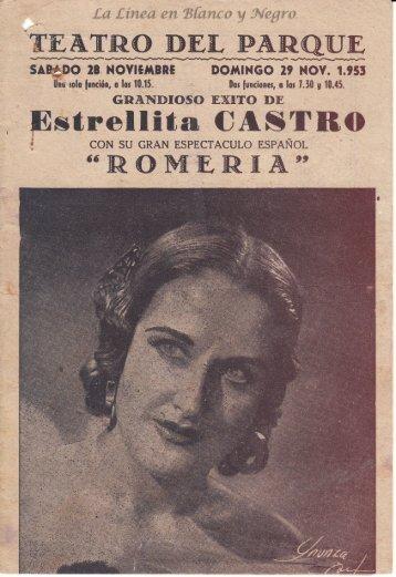 1953-11-29 Estrellita Castro - Romeria