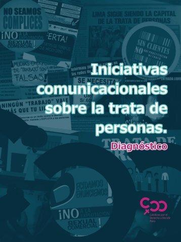 comunicacionales sobre la trata de personas