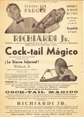 1954-03-07 Richardi Jr - Cok-tail Magic
