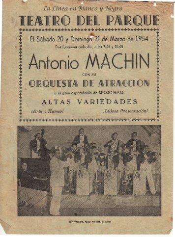 1954-03-21 Antonio Machin - Music Hall