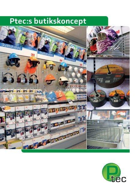 Ptec inredningar AB - Katalog för butikskoncept