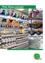 Ptec inredningar AB - Shop concept