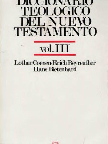 diccionario teológico del nuevo testamento - SEBIP