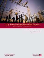 2015 Environmental Benefits Report