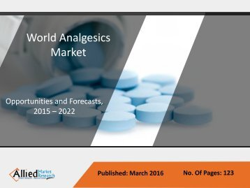 Analgesics Market - Forecasts 2015 - 2022