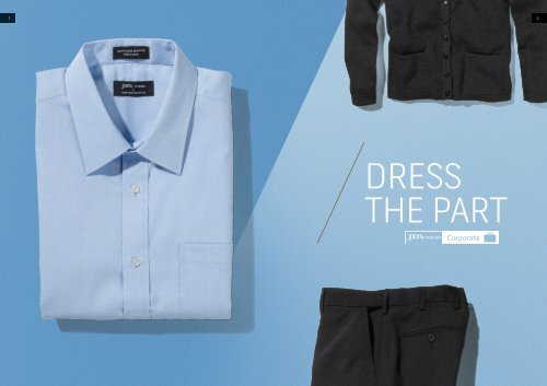 Jb/'s wear Mens Professional Oxford Corporate Shirt Curved Hem button-down Collar