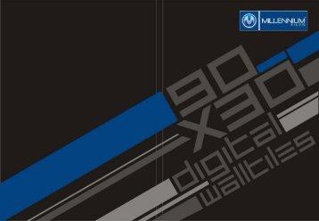 Millennium Tiles 300x900mm (12x36) Digital Wall Tiles Series